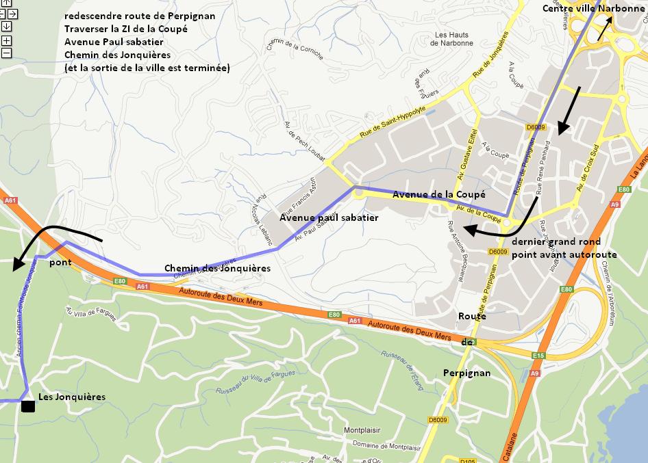 chemin communaux carte